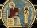 Svatogabrielsky-evangelistar-Buh-tvori-Adama