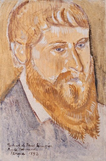 Émil Bernard ‑ Portrait of Paul Sérusier (1893)