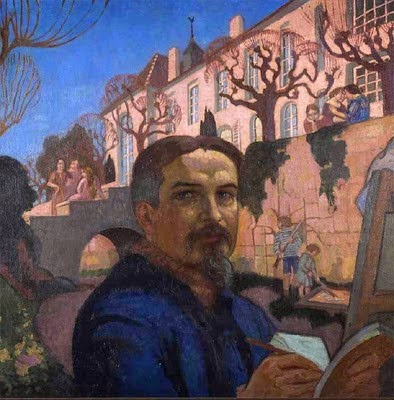 Maurice Denis - Self-Portrait (1921)