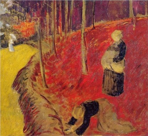Paul Sérusier (1863-1927) The Fern Harvesters in the Bois d'Amour at Pont Aven (1910)