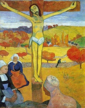 Paul Gauguin -The Yellow Christ(1889)